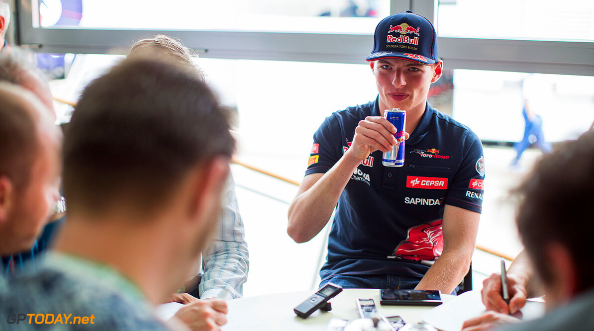 SPIELBERG, AUSTRIA - JUNE 18:  Max Verstappen of Scuderia Toro Rosso and The Netherlands during previews to the Formula One Grand Prix of Austria at Red Bull Ring on June 18, 2015 in Spielberg, Austria.  (Photo by Peter Fox/Getty Images) // Getty Images/Red Bull Content Pool // P-20150618-00434 // Usage for editorial use only // Please go to www.redbullcontentpool.com for further information. //  F1 Grand Prix of Austria - Previews Peter Fox Spielberg Bei Knittelfeld Austria  P-20150618-00434