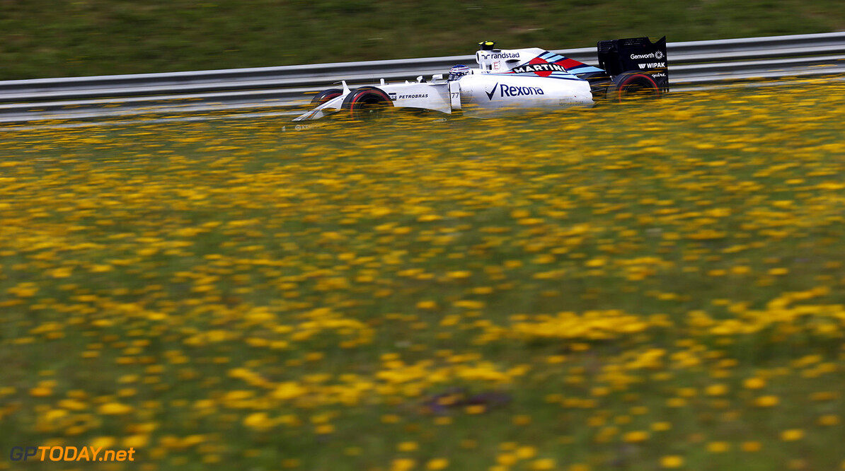 Circuit Gilles Villeneuve, Montreal, Canada. Sunday 21 June 2015. Valtteri Bottas, Williams FW37 Mercedes. Photo: Steven Tee/Williams ref: Digital Image WL4R8987  Steven Tee    Action