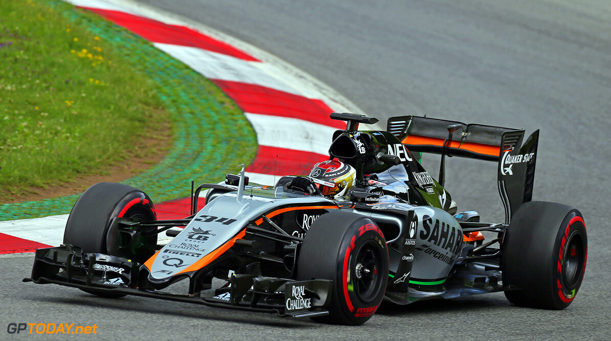 Formula One World Championship Pascal Wehrlein (GER) Sahara Force India F1 VJM08 Test Driver.