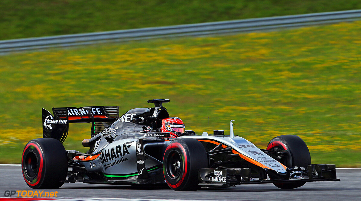 Formula One World Championship Esteban Ocon (FRA) Sahara Force India F1 VJM08 Test Driver.