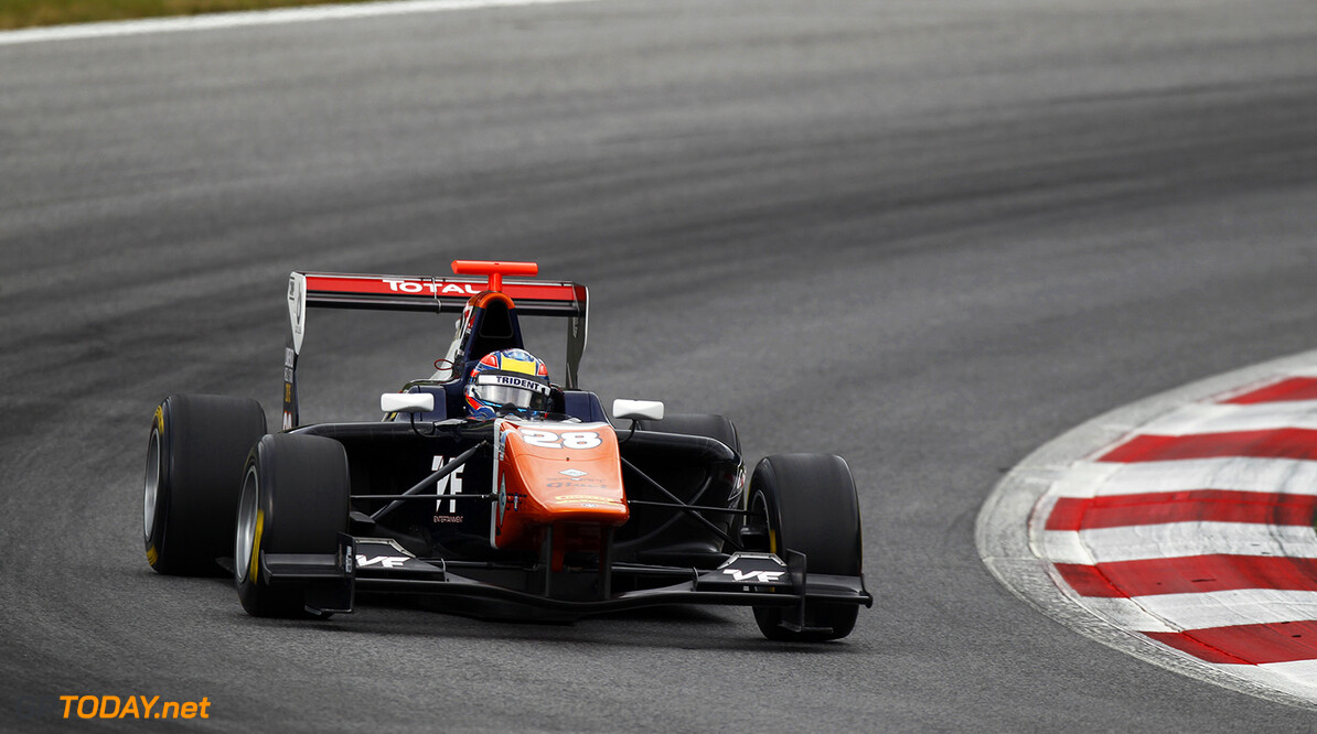 2015 GP3 Series Round 2. Red Bull Ring, Spielberg, Austria. Saturday 20 June 2015. Oscar Tunjo (COL, Trident)  Photo:  Sam Bloxham/GP3 Media Service ref: Digital Image _G7C4574  Sam Bloxham    Qualifying Action