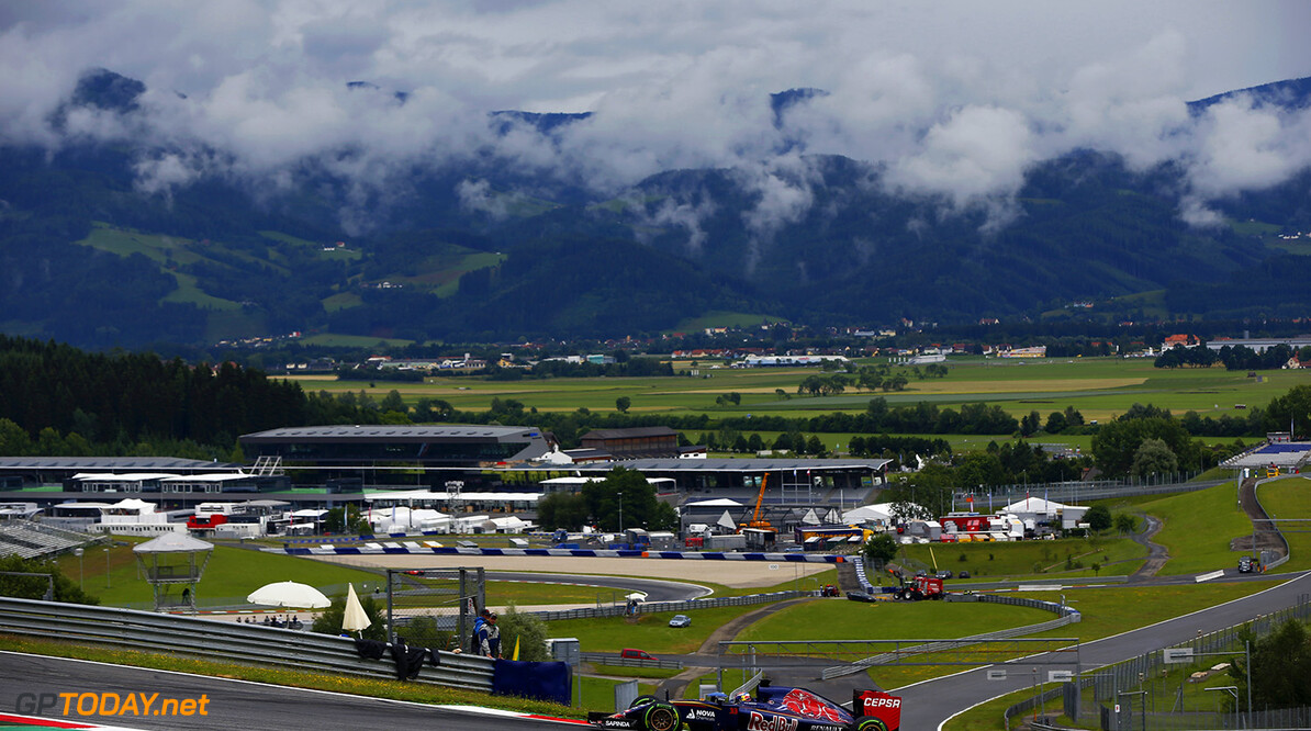 SPIELBERG, AUSTRIA - JUNE 23:  Max Verstappen of the Netherlands drives the Scuderia Toro Rosso during Formula One testing at the Red Bull Ring on June 23, 2015 in Spielberg, Austria.  (Photo by Andrew Hone/Getty Images) // Getty Images/Red Bull Content Pool // P-20150623-00412 // Usage for editorial use only // Please go to www.redbullcontentpool.com for further information. //  F1 Testing In Austria Andrew Hone Spielberg Bei Knittelfeld Austria  P-20150623-00412