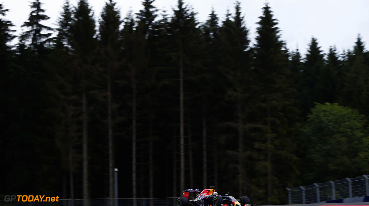 SPIELBERG, AUSTRIA - JUNE 23:  Pierre Gasly of France and Infiniti Red Bull Racing is seen driving during Formula One testing at the Red Bull Ring on June 23, 2015 in Spielberg, Austria.  (Photo by Andrew Hone/Getty Images) // Getty Images/Red Bull Content Pool // P-20150623-00467 // Usage for editorial use only // Please go to www.redbullcontentpool.com for further information. //  F1 Testing In Austria Andrew Hone Spielberg Bei Knittelfeld Austria  P-20150623-00467