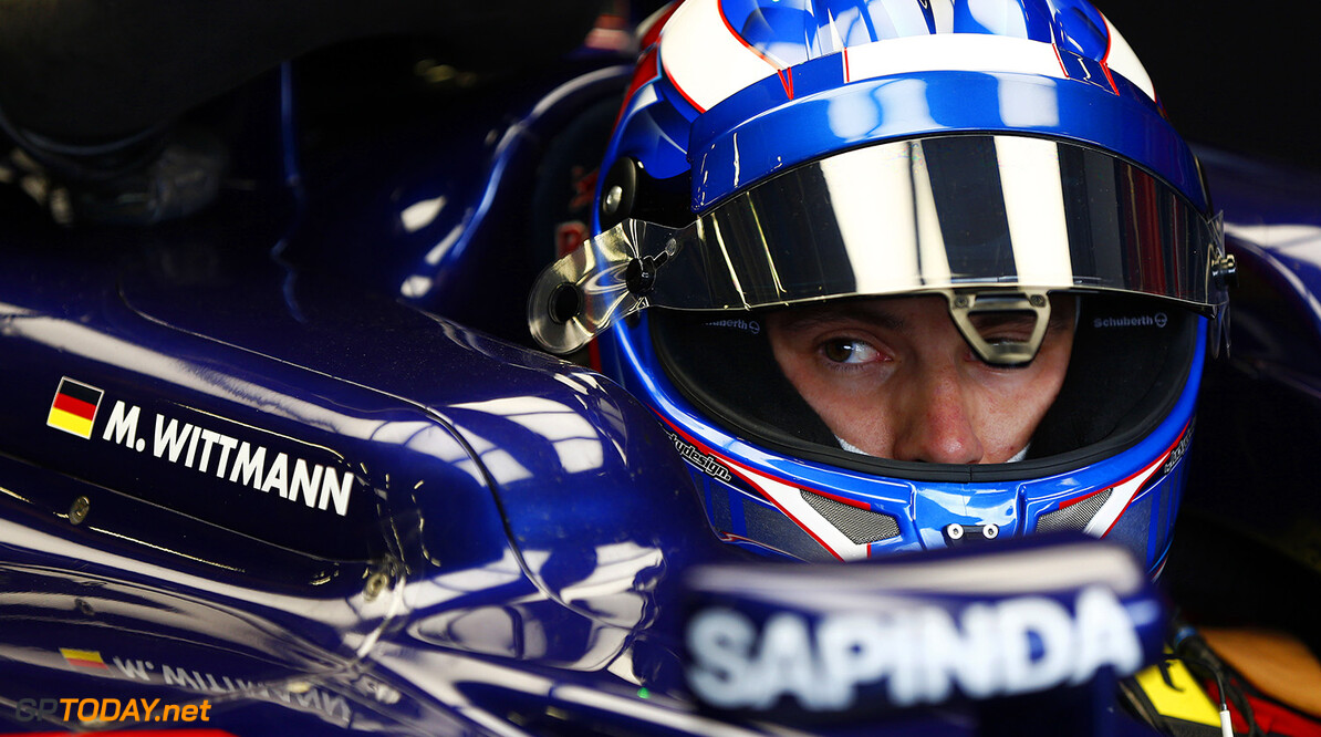 SPIELBERG, AUSTRIA - JUNE 24:  Marco Wittmann of Germany drives for Scuderia Toro Rosso during Formula One Testing at the Red Bull Ring on June 24, 2015 in Spielberg, Austria.  (Photo by Andrew Hone/Getty Images) // Getty Images/Red Bull Content Pool // P-20150624-00063 // Usage for editorial use only // Please go to www.redbullcontentpool.com for further information. //  F1 Grand Prix Testing in Austria Andrew Hone Spielberg Bei Knittelfeld Austria  P-20150624-00063