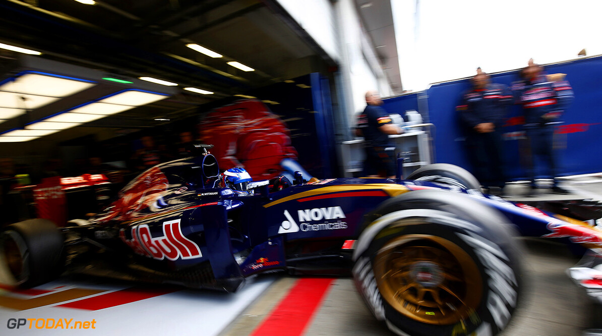 SPIELBERG, AUSTRIA - JUNE 24:  Marco Wittmann of Germany drives for Scuderia Toro Rosso during Formula One Testing at the Red Bull Ring on June 24, 2015 in Spielberg, Austria.  (Photo by Andrew Hone/Getty Images) // Getty Images/Red Bull Content Pool // P-20150624-00071 // Usage for editorial use only // Please go to www.redbullcontentpool.com for further information. //  F1 Grand Prix Testing in Austria Andrew Hone Spielberg Bei Knittelfeld Austria  P-20150624-00071