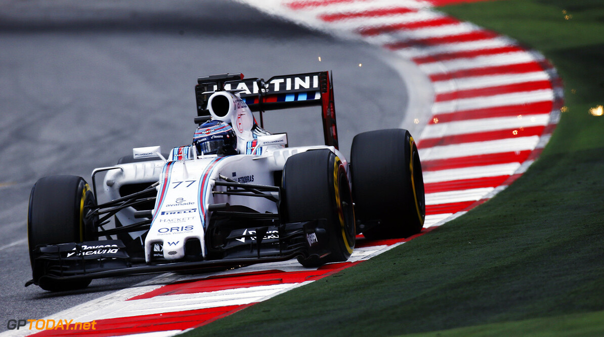 Red Bull Ring, Spielberg, Austria. Wednesday 24 June 2015. Valtteri Bottas, Williams FW37 Mercedes.  Photo: Glenn Dunbar/Williams F1 ref: Digital Image _W2Q6332      action