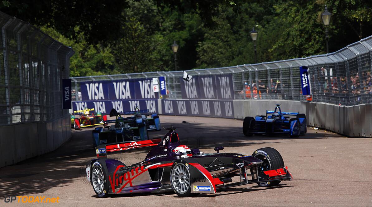2014/2015 FIA Formula E Championship. London e-Prix, Battersea Park, London, UK. Sunday 28 June 2015. World Copyright: Zak Mauger/LAT Photographic/Formula E. ref: Digital Image _L0U0709   Zak Mauger