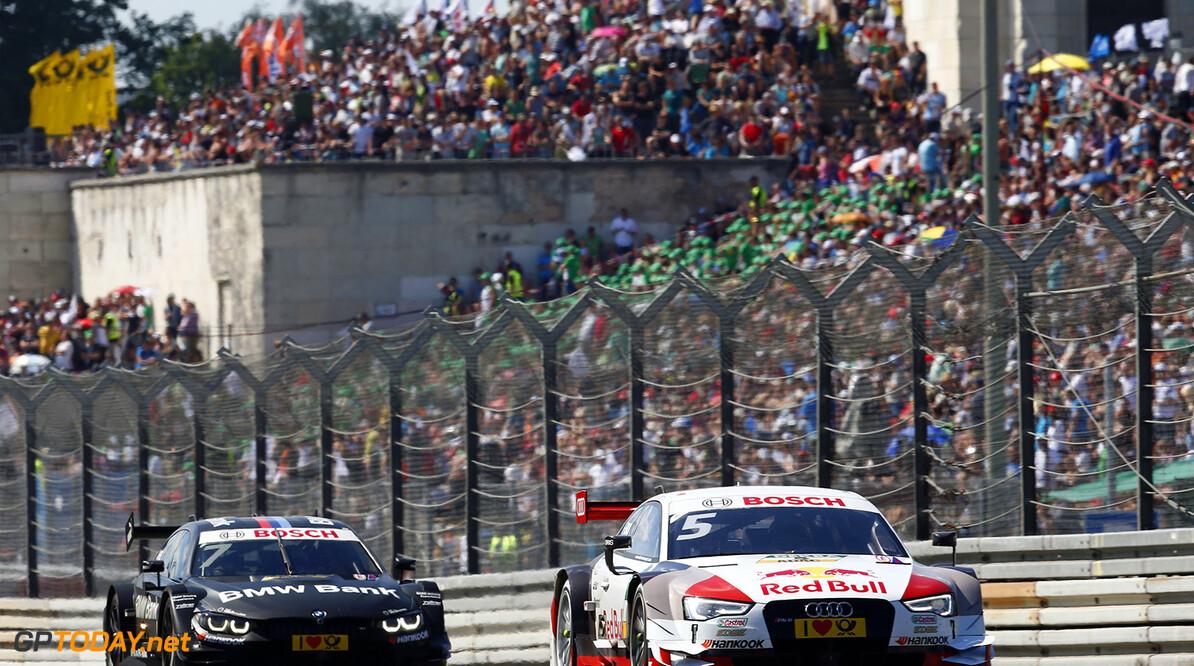 #7 Bruno Spengler, BMW M4 DTM, #5 Mattias Ekstrom, Audi RS5 DTM