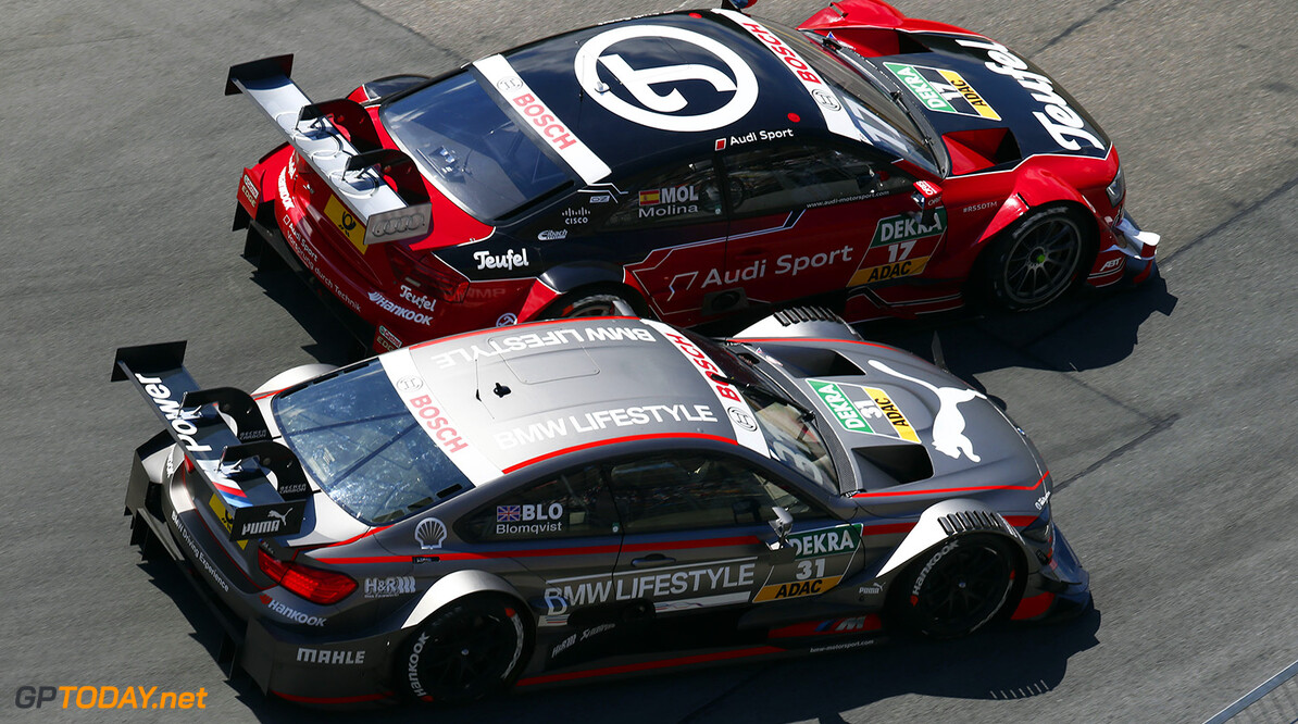 #31 Tom Blomqvist, BMW M4 DTM, #17 Miguel Molina, Audi RS5 DTM