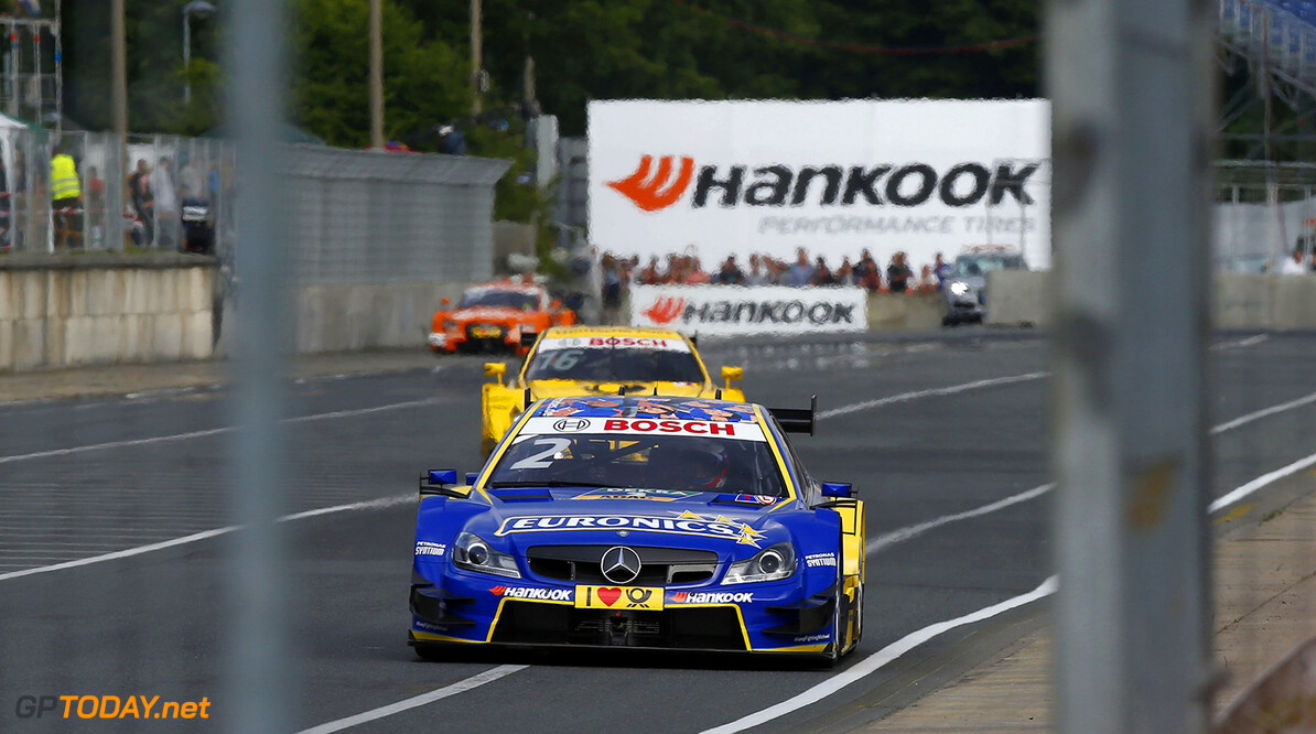 #2 Gary Paffett, Mercedes-AMG C63 DTM