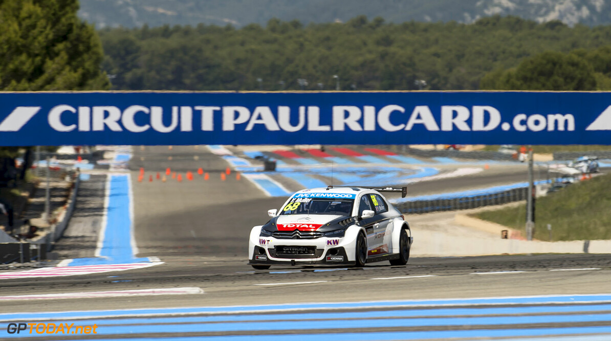 68 MULLER Yvan (fra) Citroen C Elysee team Citroen racing action during the 2015 FIA WTCC World Touring Car Championship race of Paul Ricard, Le Castellet, France from June 26th to 28th 2015. Photo Vincent Curutchet / DPPI. Auto - WTCC Paul Ricard 2015 Vincent Curutchet Le Castellet France  Auto CHAMPIONNAT DU MONDE CIRCUIT COURSE FIA JUIN JUNE Motorsport TOURISME WTCC