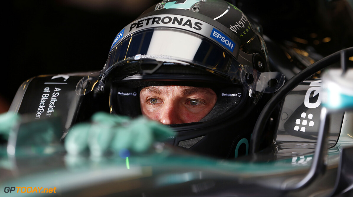 Private jet on standby for Rosberg baby birth