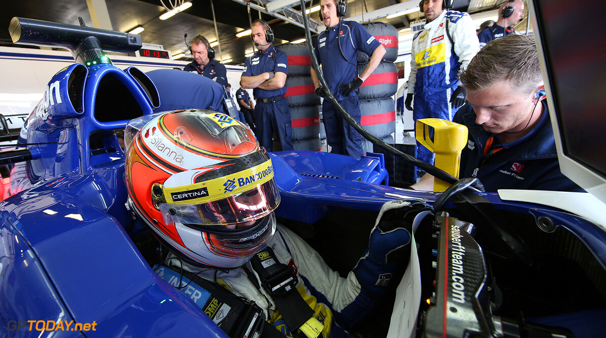 British GP Thursday 02/07/15 Raffaele Marciello (ITA) Sauber F1 Team test and reserve driver.