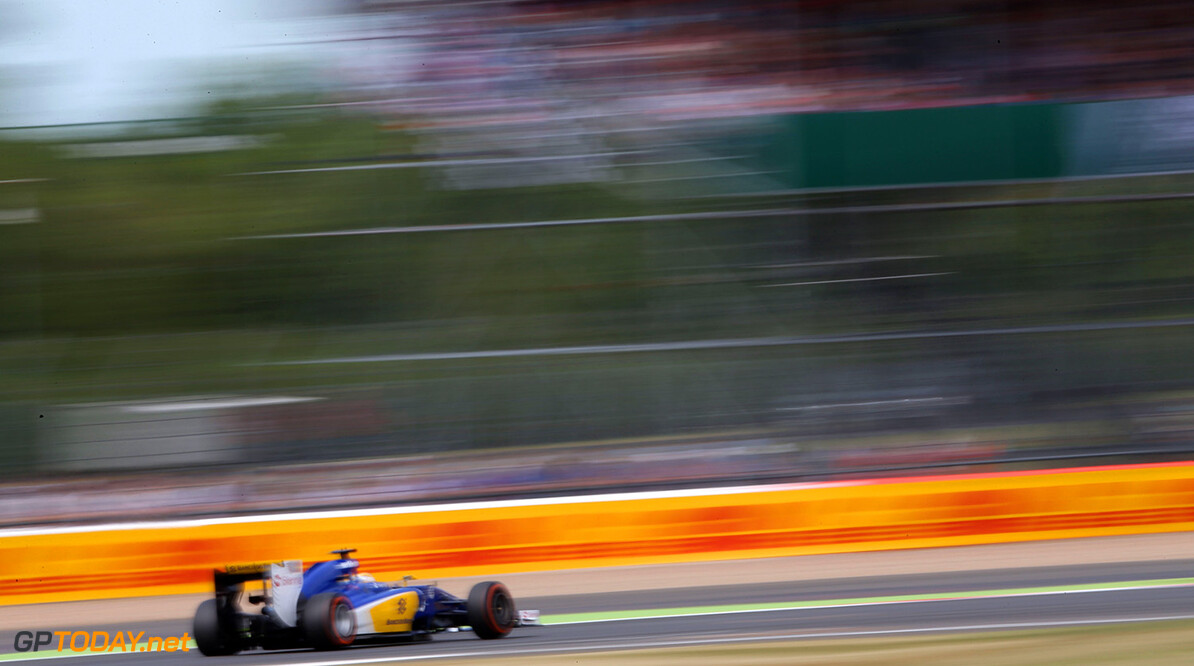 British GP Thursday 02/07/15 Marcus Ericsson (SWE), Sauber F1 Team. 