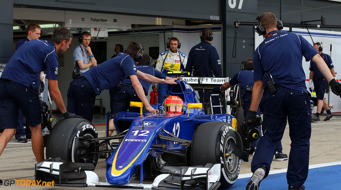 British GP Saturday 04/07/15 Felipe Nasr (BRA) Sauber F1 Team. 