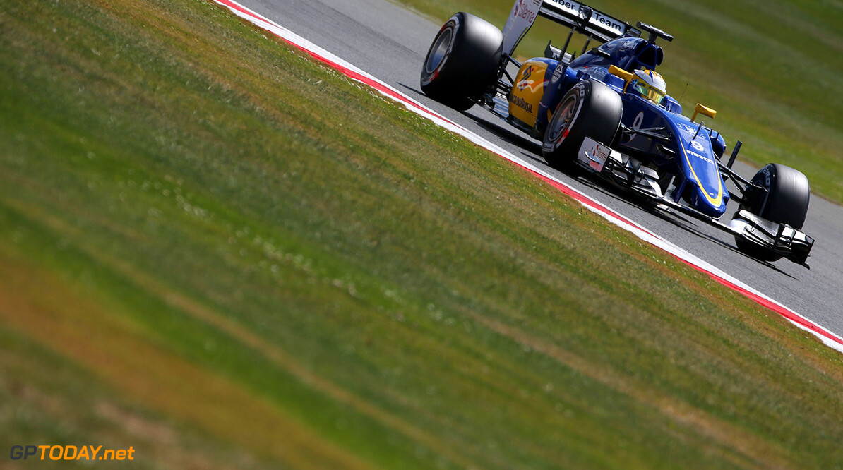 British GP Saturday 04/07/15 Marcus Ericsson (SWE), Sauber F1 Team. 