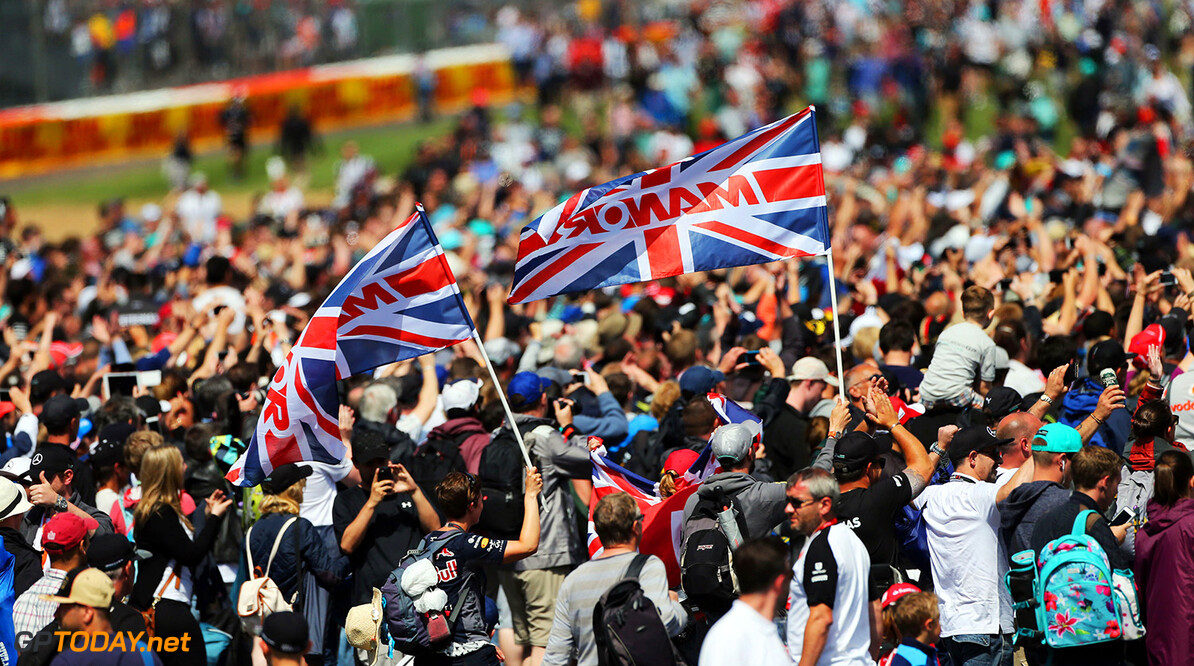 Formula One World Championship Fans invade the circuit at the end of the race.