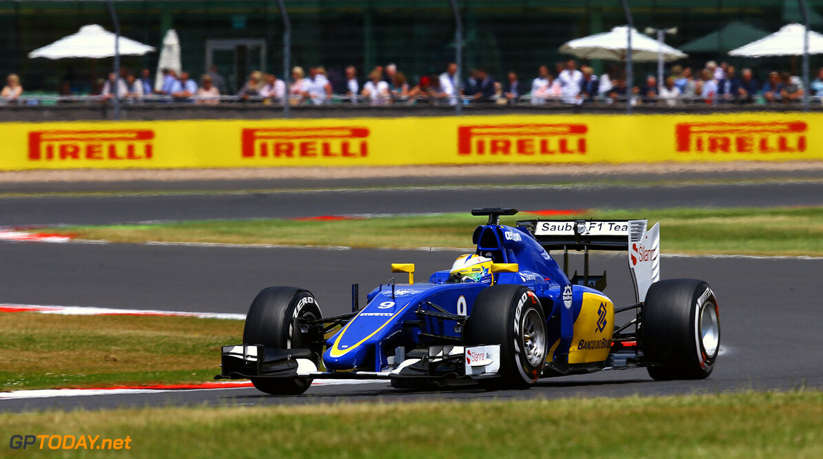 British GP Race 05/07/15 Marcus Ericsson (SWE), Sauber F1 Team. Silverstone Circuit.  British GP Race 05/07/15 Jean Francois Galeron Silverstone Great Britain  F1 Formula One 2015 Action Ericsson Sauber