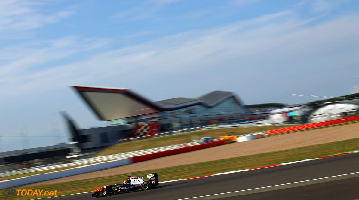2015 GP3 Series Round 3.  Silverstone, Northamptonshire, England. Friday 3 July 2015. Artur Janosz (POL, Trident)  Photo:  Ebrey/GP3 Media Service ref: Digital Image BK5R3924  Jakob Ebrey    Practice Action