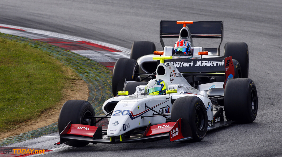 20 BONIFACIO Bruno (BRA) International Draco Racing (ITA) action during the 2015 Formula Renault 3.5 race at Red Bull Ring, Spielberg, Austria, from July 10th to 12th 2015. Photo DPPI / Florent Gooden. Auto - Fr 3.5 race at Red Bull Ring 2015 Florent Gooden Spielberg Austria  AUTO CAR FR FR 3.5 Formule Renault MONOPLACE Motorsport Race UNIPLACE WSR World Series by Renault