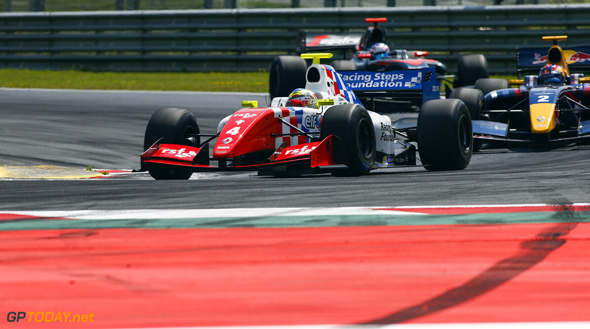 04 ROWLAND Oliver (GBR) Fortec Motorsports (GBR) action during the 2015 Formula Renault 3.5 race at Red Bull Ring, Spielberg, Austria, from July 10th to 12th 2015. Photo DPPI / Florent Gooden. Auto - Fr 3.5 race at Red Bull Ring 2015 Florent Gooden Spielberg Austria  AUTO CAR FR FR 3.5 Formule Renault MONOPLACE Motorsport Race UNIPLACE WSR World Series by Renault