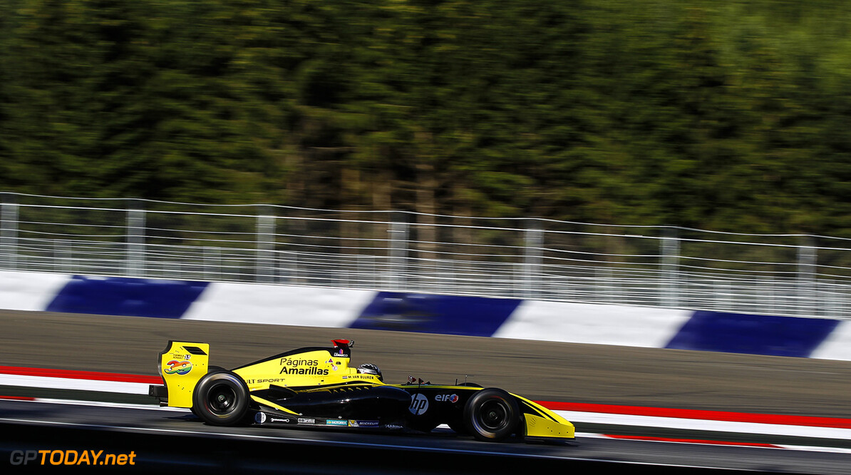 39 VAN BUUREN Meindert (NED) Pons Racing (SPA) action during the 2015 Formula Renault 3.5 race at Red Bull Ring, Spielberg, Austria, from July 10th to 12th 2015. Photo DPPI / Florent Gooden. Auto - Fr 3.5 race at Red Bull Ring 2015 Florent Gooden Spielberg Austria  AUTO CAR FR FR 3.5 Formule Renault MONOPLACE Motorsport Race UNIPLACE WSR World Series by Renault