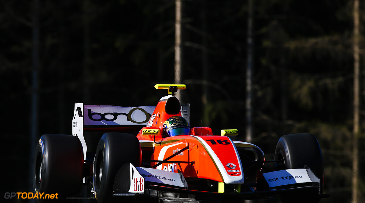 16 VISSER Beitske (NED) AVF (SPA) action during the 2015 Formula Renault 3.5 race at Red Bull Ring, Spielberg, Austria, from July 10th to 12th 2015. Photo DPPI / Florent Gooden. Auto - Fr 3.5 race at Red Bull Ring 2015 Florent Gooden Spielberg Austria  AUTO CAR FR FR 3.5 Formule Renault MONOPLACE Motorsport Race UNIPLACE WSR World Series by Renault