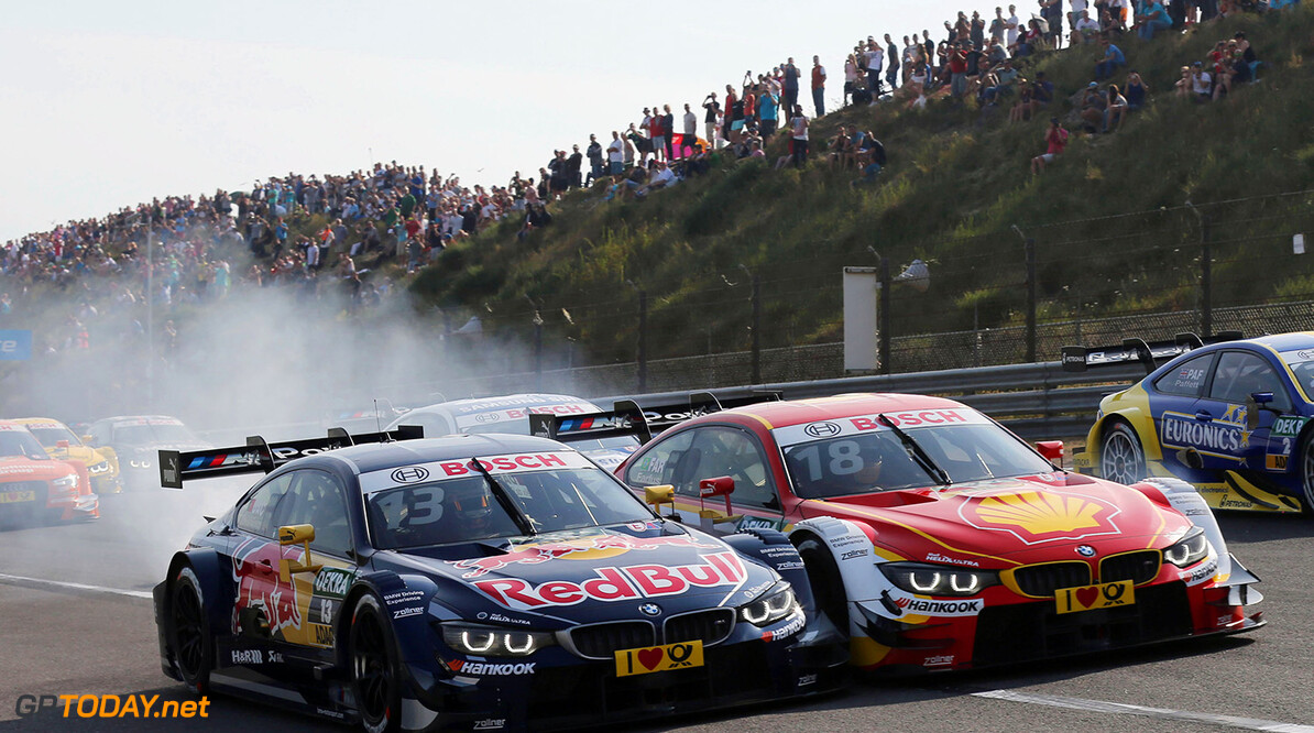 #13 Antonio Felix da Costa, BMW M4 DTM, #18 Augusto Farfus, BMW M4 DTM