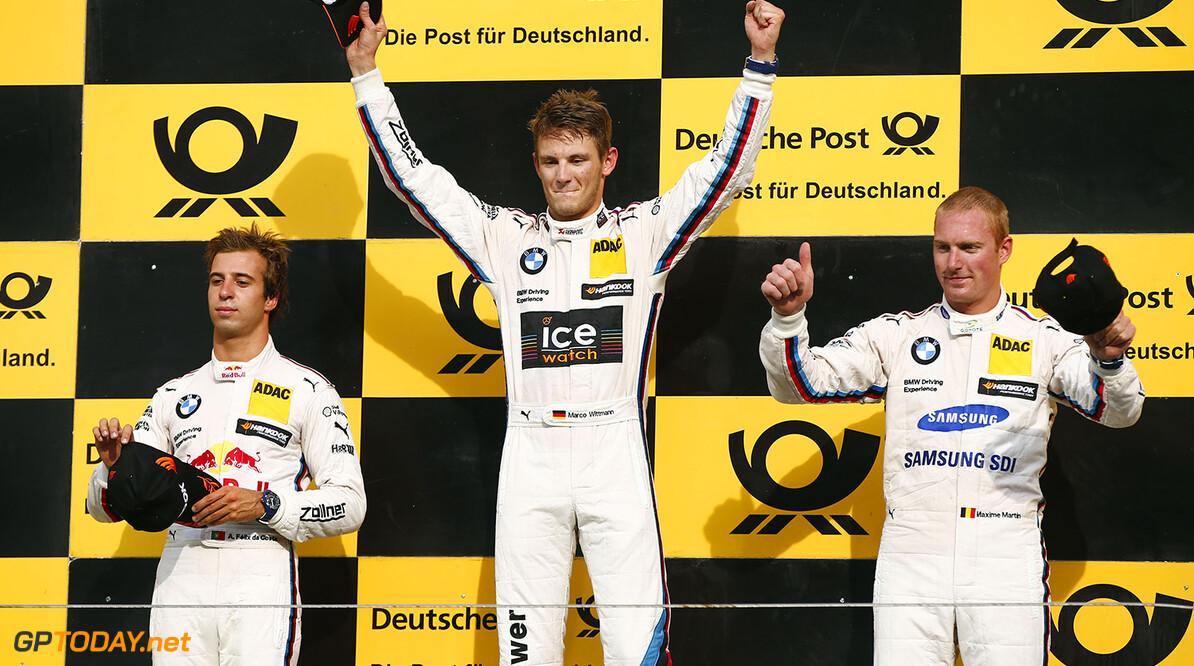 #13 Antonio Felix da Costa, BMW M4 DTM, #1 Marco Wittmann, BMW M4 DTM, #36 Maxime Martin, BMW M4 DTM