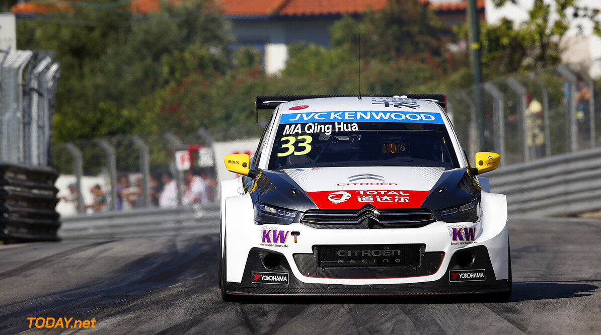 33 MA QING Hua (chn) Citroen C Elysee team Citroen racing action during the 2015 FIA WTCC World Touring Car Championship race of Portugal, Vila Real from July 10th to 12th 2015. Photo Alexandre Guillaumot / DPPI. Auto - WTCC Portugal 2015 Alexandre Guillaumot    Auto CHAMPIONNAT DU MONDE CIRCUIT COURSE FIA Motorsport TOURISME WTCC