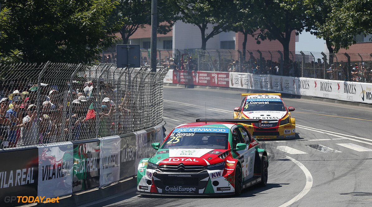 25 BENNANI Mehdi (mar) Citroen C Elysee team Sebastien Loeb racing action during the 2015 FIA WTCC World Touring Car Championship race of Portugal, Vila Real from July 10th to 12th 2015. Photo Alexandre Guillaumot / DPPI. Auto - WTCC Portugal 2015 Alexandre Guillaumot    Auto CHAMPIONNAT DU MONDE CIRCUIT COURSE FIA Motorsport TOURISME WTCC