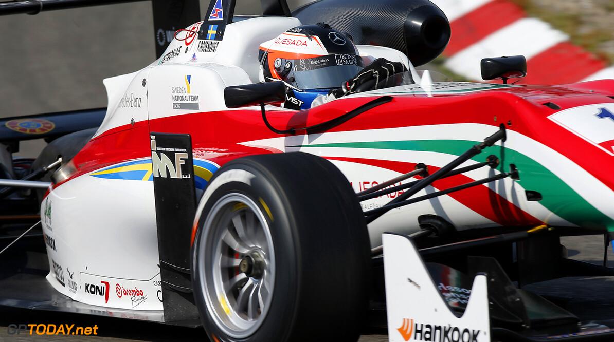 FIA Formula 3 European Championship, round 7, race 2, Zandvoort 1 Felix Rosenqvist (SWE, Prema Powerteam, Dallara F312 - Mercedes-Benz), FIA Formula 3 European Championship, round 7, race 2, Zandvoort (NED) - 10. - 12. July 2015 FIA Formula 3 European Championship, round 7, race 2, Zandvoort (NED) Thomas Suer Zandvoort Netherlands