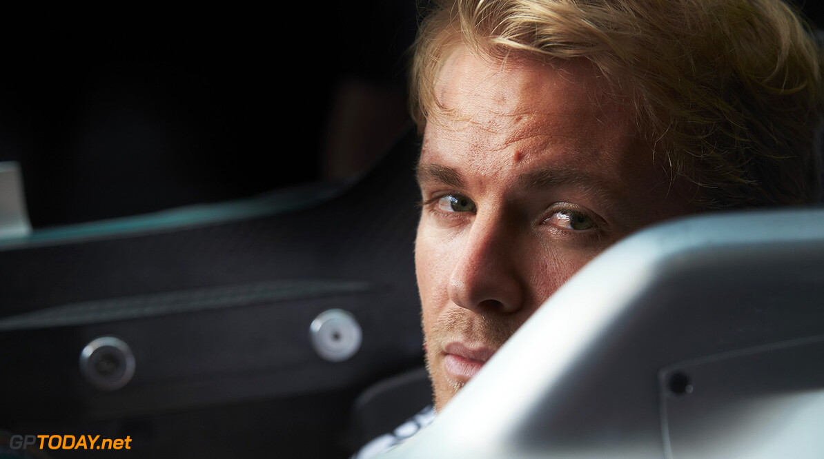 Rosberg fires psychological jab at Hamilton's lifestyle
