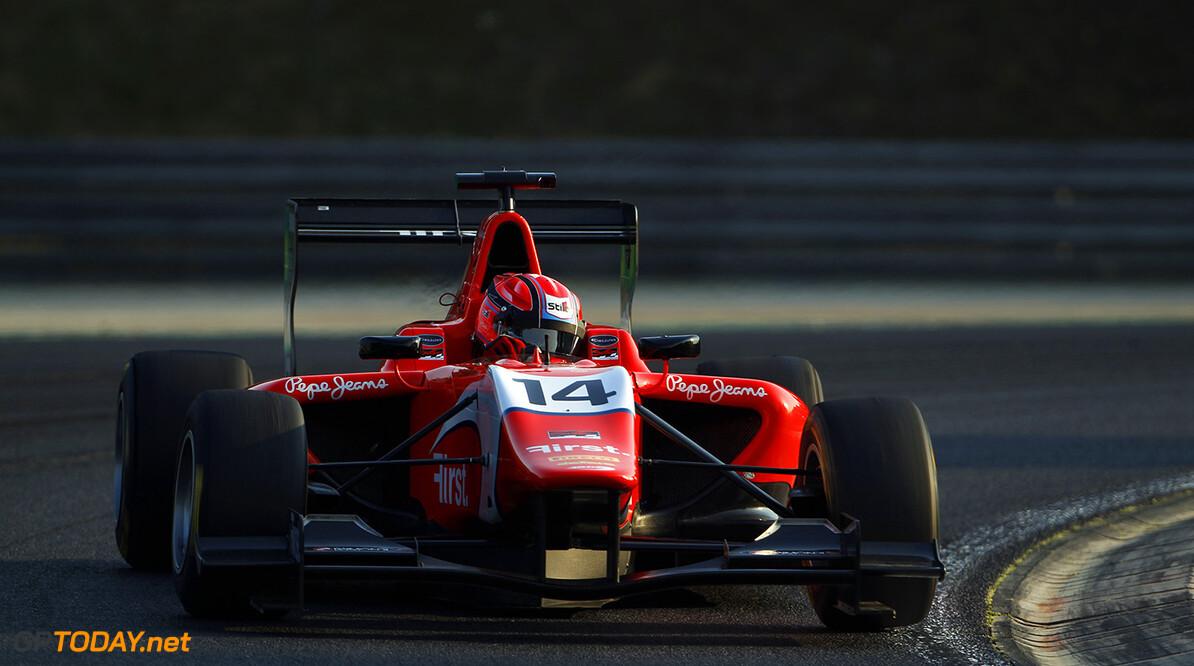 2015 GP3 Series Round 4. Hungaroring, Budapest, Hungary.  Friday 24 July 2015. Kevin Ceccon (ITA, Arden International) Photo:  Sam Bloxham/GP3 Media Service ref: Digital Image _G7C1537      practice action
