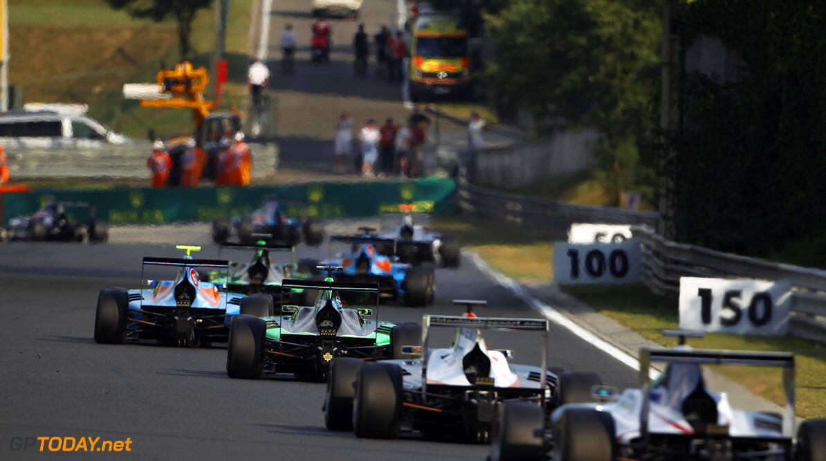 2015 GP3 Series Round 4.  Hungaroring, Budapest, Hungary. Saturday 25 July 2015. Alex Fontana (SUI, Status Grand Prix)  Photo:  Sam Bloxham/GP3 Media Service ref: Digital Image _G7C3258  Sam Bloxham    Race One Action