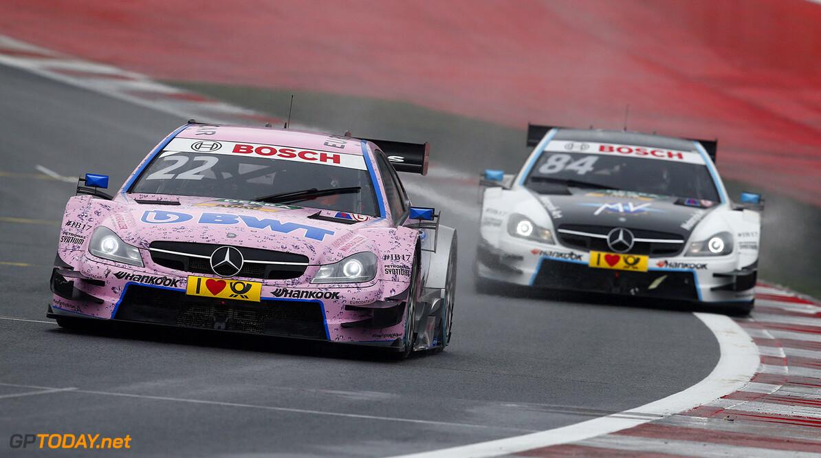 #22 Lucas Auer, Mercedes-AMG C 63 DTM, #84 Maximilian Gotz, Mercedes-AMG C 63 DTM