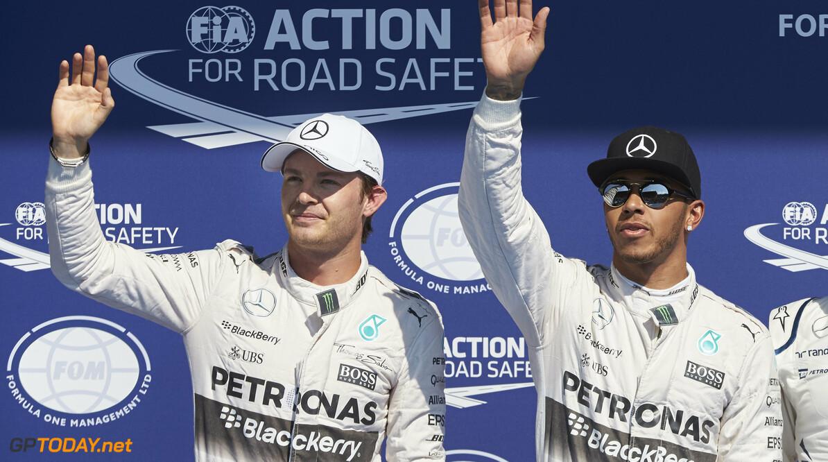 Rosberg moet list verzinnen in duel met Hamilton