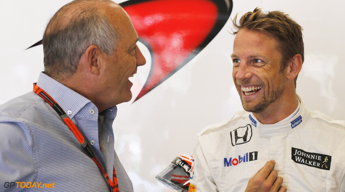 Button had 'good chats' with Dennis about his future