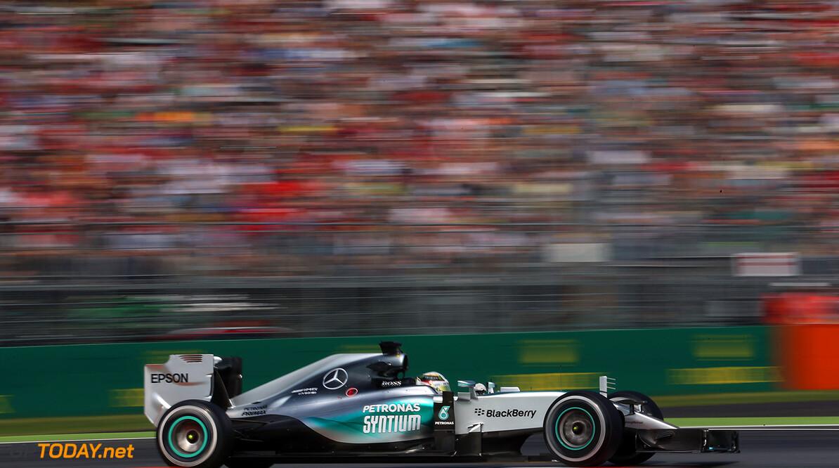 Hamilton on Pole in Italy