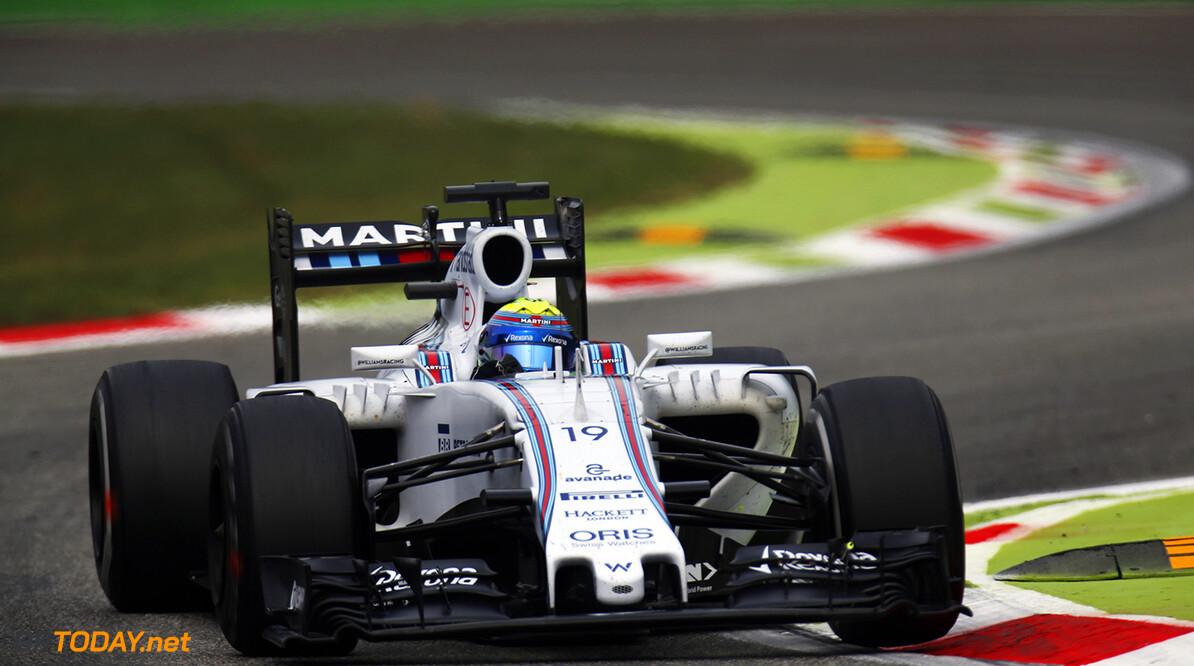 Autodromo Nazionale di Monza, Monza, Italy. Friday 4 September 2015. Felipe Massa, Williams FW37 Mercedes. Photo: Alastair Staley/Williams ref: Digital Image WR6T9986  Al Staley    Action