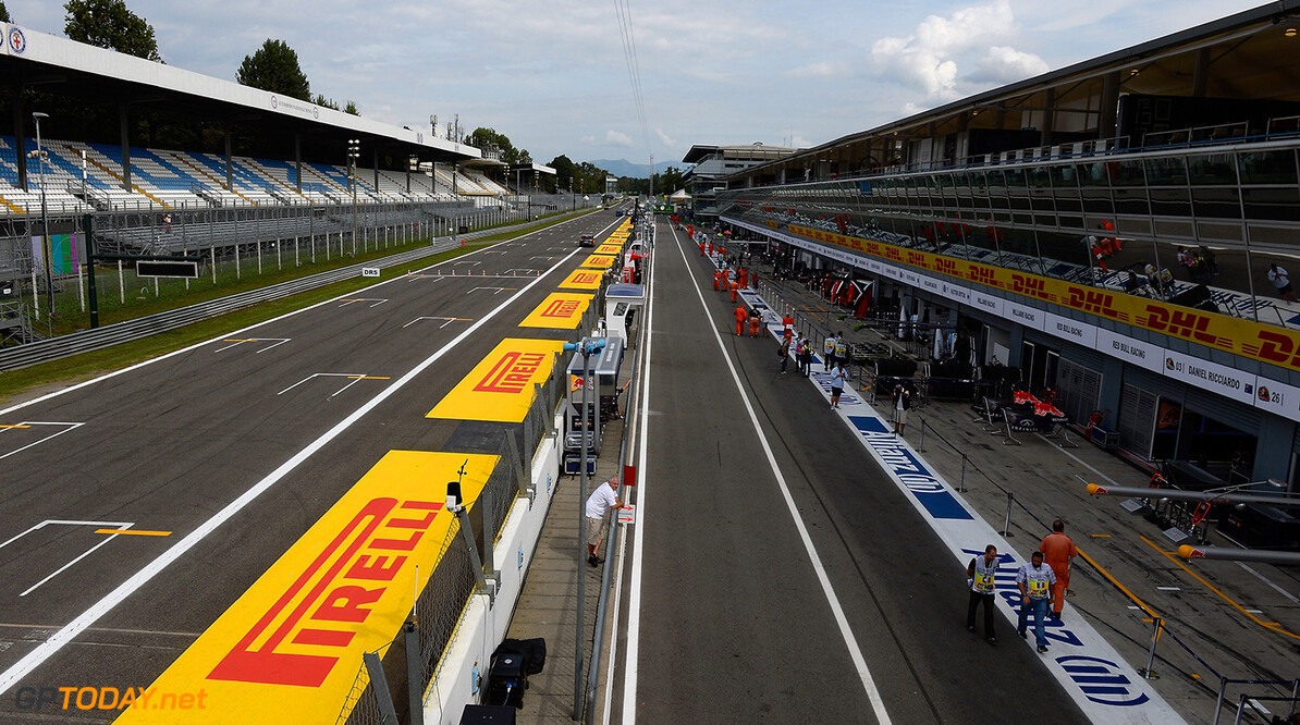 Promoter says 'no panic' in Monza future talks