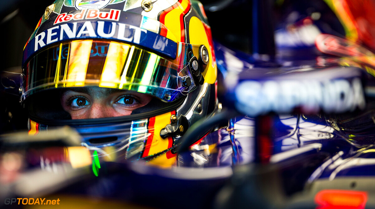 MONZA, ITALY - SEPTEMBER 04:  Carlos Sainz of Scuderia Toro Rosso and Spain during practice for the Formula One Grand Prix of Italy at Autodromo di Monza on September 4, 2015 in Monza, Italy.  (Photo by Peter Fox/Getty Images) // Getty Images/Red Bull Content Pool // P-20150904-00220 // Usage for editorial use only // Please go to www.redbullcontentpool.com for further information. //  F1 Grand Prix of Italy - Practice Peter Fox Monza Italy  P-20150904-00220