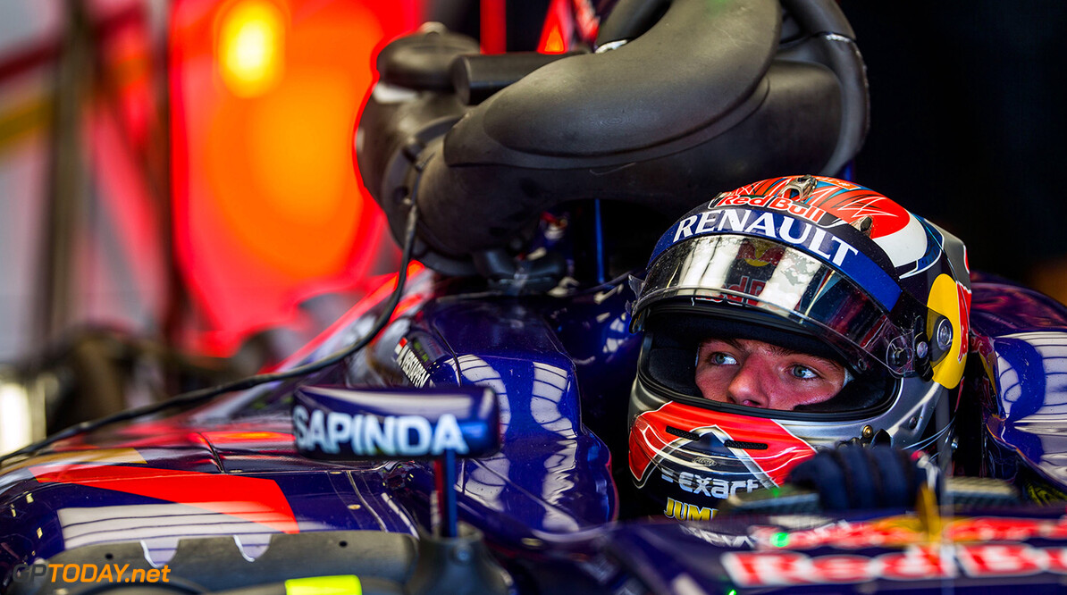 MONZA, ITALY - SEPTEMBER 03:  Max Verstappen of Scuderia Toro Rosso and The Netherlands during previews to the Formula One Grand Prix of Italy at Autodromo di Monza on September 3, 2015 in Monza, Italy.  (Photo by Peter Fox/Getty Images) // Getty Images/Red Bull Content Pool // P-20150905-00398 // Usage for editorial use only // Please go to www.redbullcontentpool.com for further information. //  F1 Grand Prix of Italy - Previews  Monza Italy  P-20150905-00398