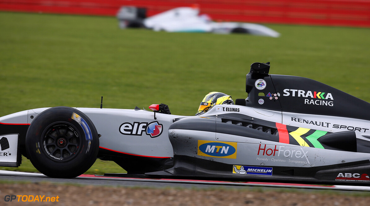 11 ELLINAS Tio (CYP) Strakka Racing (GBR) action during the 2015 World Series by Renault from September 3 to 5th  2015, at Silverstone, England. Photo Alexandre Guillaumot  / DPPI. AUTO - WSR SILVERSTONE 2015 Alexandre Guillaumot Silverstone Angleterre  2.0 2015 Auto Car CHAMPIONNAT ESPAGNE Europe FORMULA RENAULT FORMULES FR FR 3.5 MONOPLACE Motorsport Race RENAULT SPORT series Sport UNIPLACE VOITURES WORLD WORLD SERIES BY RENAULT WSR ANGLETERRE