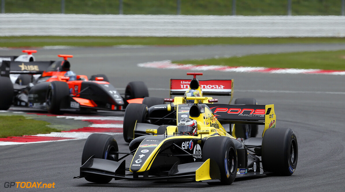 40 BRATT Will (GBR) Pons Racing (SPA) action during the 2015 World Series by Renault from September 3 to 5th  2015, at Silverstone, England. Photo Jean-Michel Le Meur / DPPI. AUTO - WSR SILVERSTONE 2015 Jean-Michel Le Meur Silverstone Angleterre  2.0 2015 Auto Car CHAMPIONNAT ESPAGNE Europe FORMULA RENAULT FORMULES FR FR 3.5 MONOPLACE Motorsport Race RENAULT SPORT series Sport UNIPLACE VOITURES WORLD WORLD SERIES BY RENAULT WSR ANGLETERRE