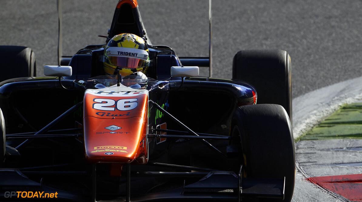 2015 GP3 Series Round 6. Autodromo di Monza, Italy. Saturday 5 September 2015. Artur Janosz (POL, Trident)  Photo: Sam Bloxham/GP3 Series Media Service. ref: Digital Image _G7C1483  Sam Bloxham    Race One 1 race action