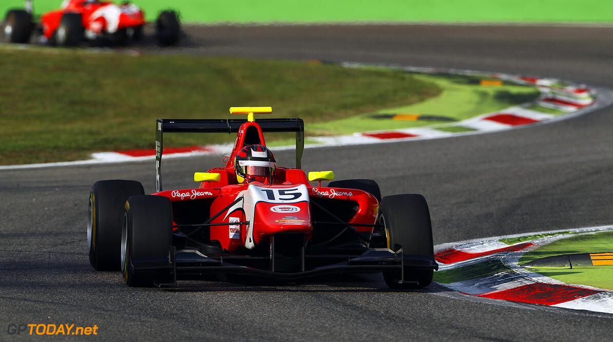 2015 GP3 Series Round 6. Autodromo di Monza, Italy. Friday 4 September 2015. Emil Bernstorff (GBR, Arden International)  Photo: Sam Bloxham/GP3 Series Media Service. ref: Digital Image _G7C0608  Sam Bloxham    Practice action