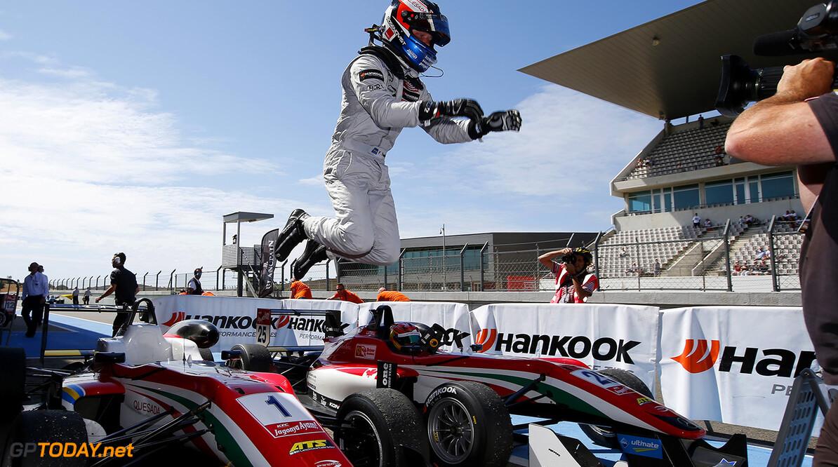Felix Rosenqvist mikt op stap naar de GP2