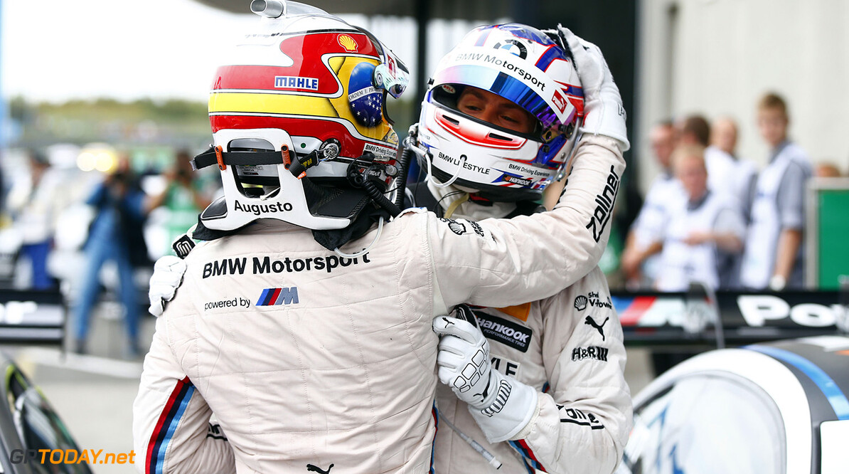 #18 Augusto Farfus, BMW M4 DTM, #31 Tom Blomqvist, BMW M4 DTM