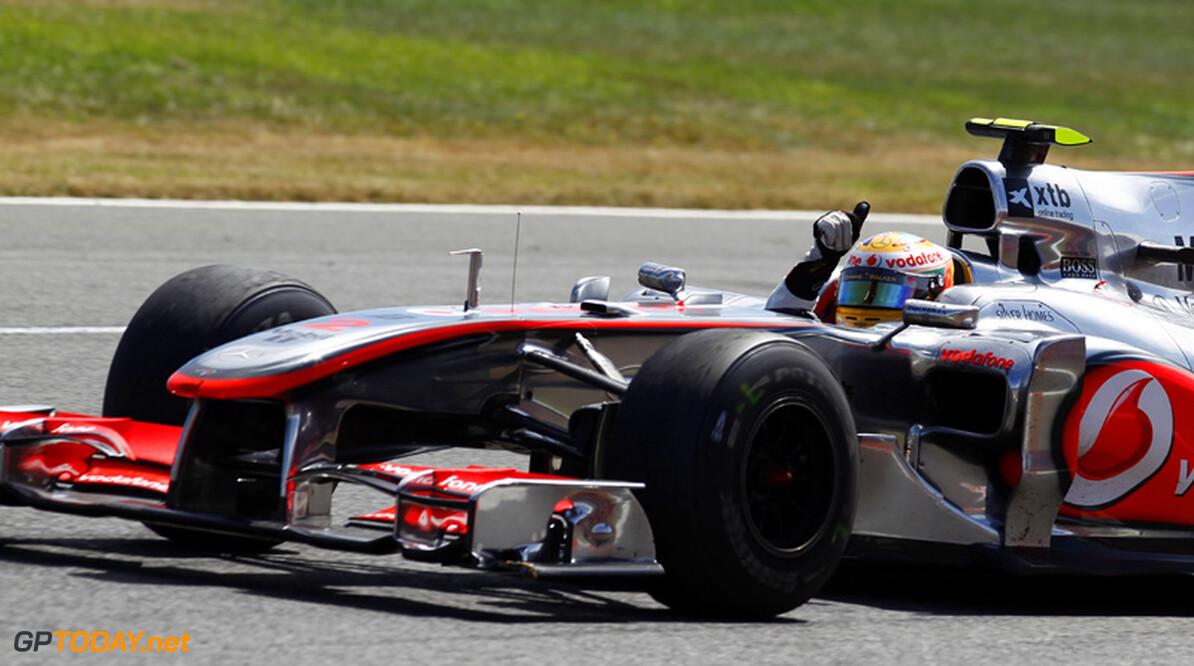 """Hamilton: """"Red Bull Racing is nog steeds sneller dan wij"""""""